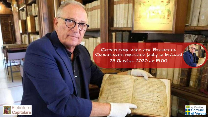Guided tour with the Biblioteca Capitolare's Director – 25 October 2020